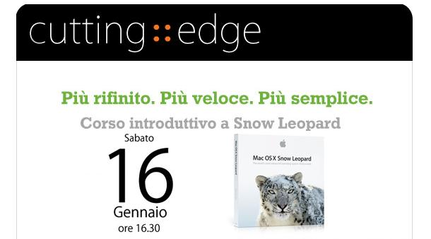 corso introduttivo a snow leopard calmug