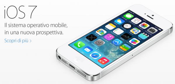 Arriva iOS7