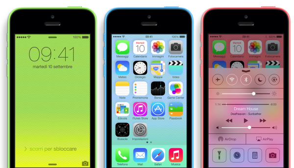 iOS7iPhone5C