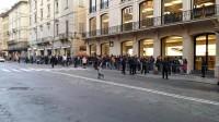 Fuori dallo  Store di Bologna